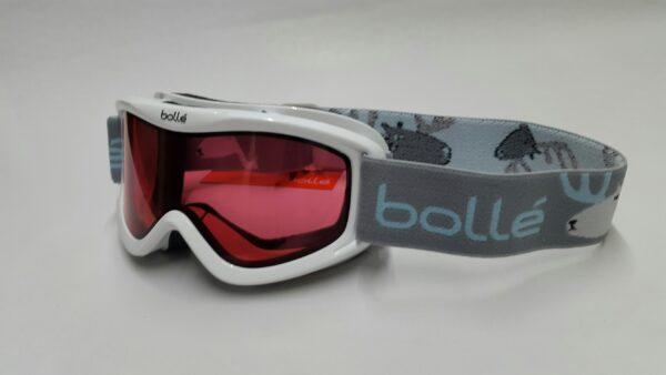 541ee7a593cdad Bolle Volt White Confetti Vermillion Goggles (Youth) - Mega Ski ...