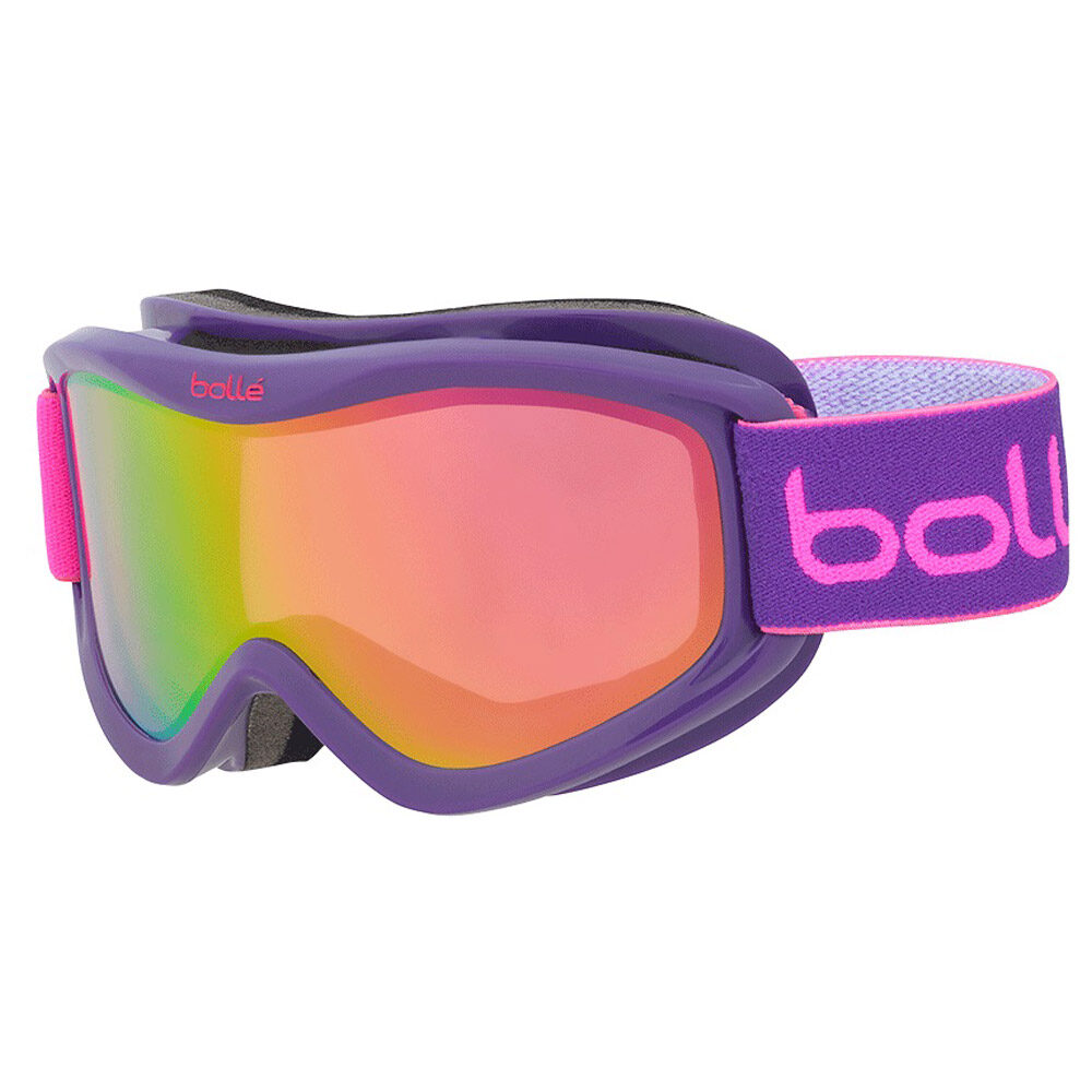 80b8f1f4123794 Bolle Volt Plus Purple Blocks Rose Gold Goggles (Youth) - Mega Ski ...