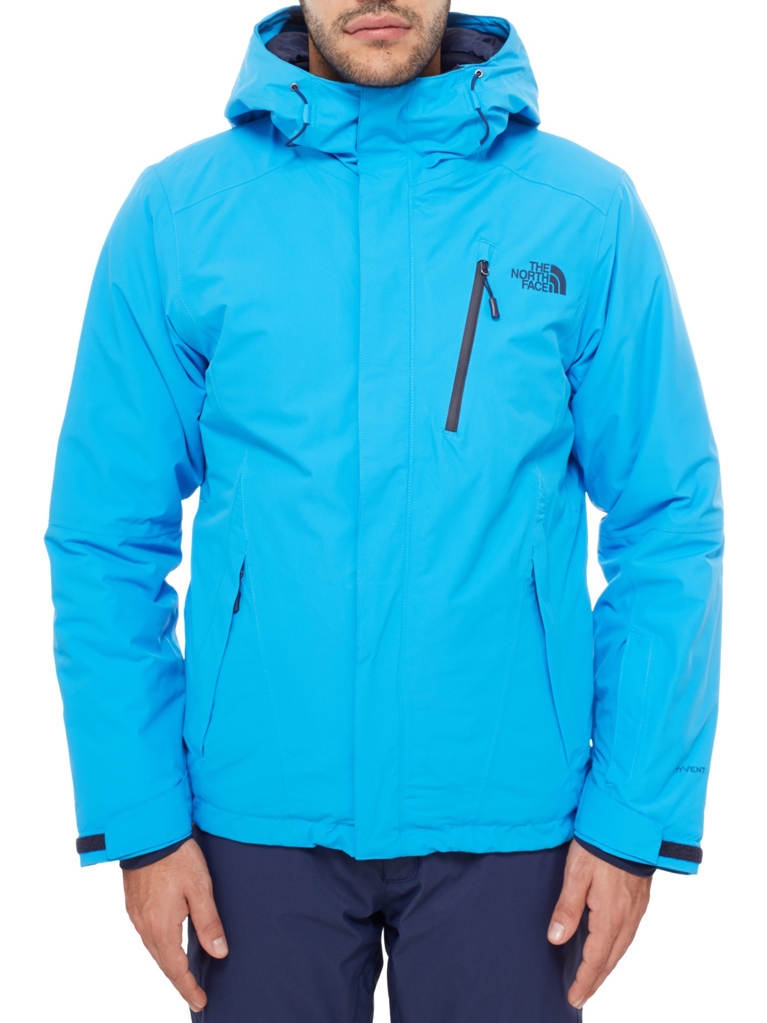 c81914e36822 The North Face Descendit Men s Jacket- Hyper Blue - Mega Ski